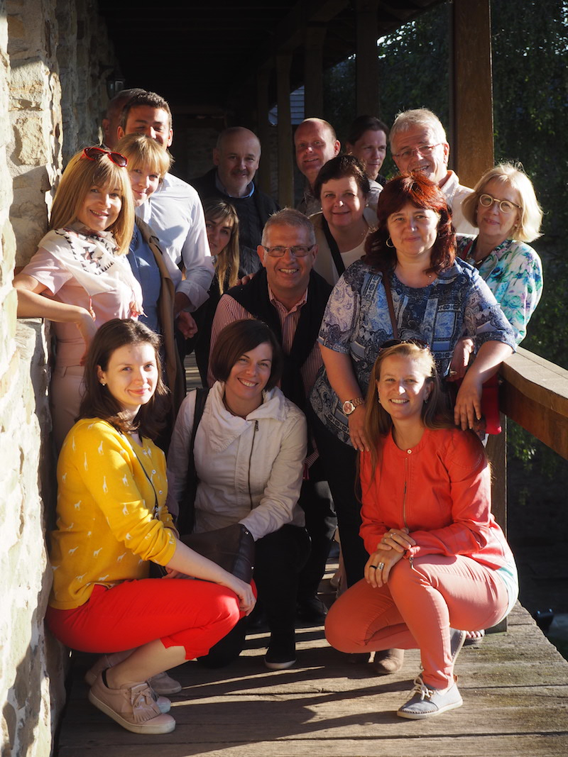 The EUROPETOUR project team at our last meeting in Suceava, Romania.