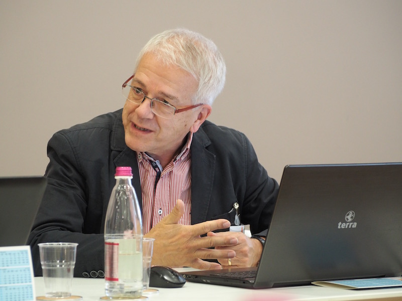 Wolfgang Eisenreich, our project partner from Austria, is responsible for the overall outcome of the training modules.