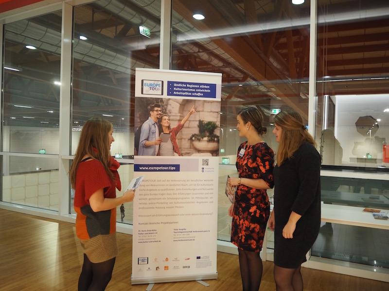 ... we discuss new ways of promoting EUROPETOUR ...